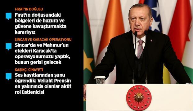 Cumhurbaşkanı Erdoğan: Münbiç hikayesiyle dikkatimizi dağıtmaya çalışıyorlar