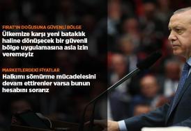 Cumhurbaşkanı Erdoğan: Sözler tutulmazsa gereken adımları atarız