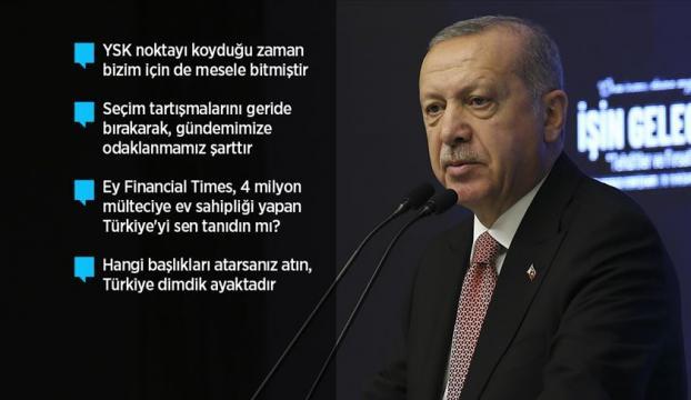 """""""Dönem birlik ve beraberliğimizi yeniden perçinleme dönemidir"""""""