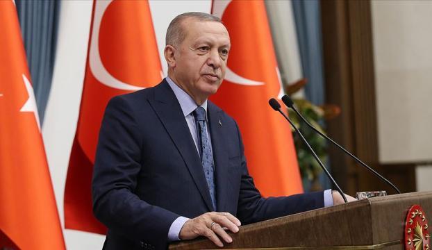 """Cumhurbaşkanı Erdoğandan """"Pençe Operasyonu"""" mesajı"""