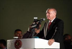 """""""Anadolu toprakları 15 Temmuz'da bir kez daha bize vatan kılınmıştır"""""""