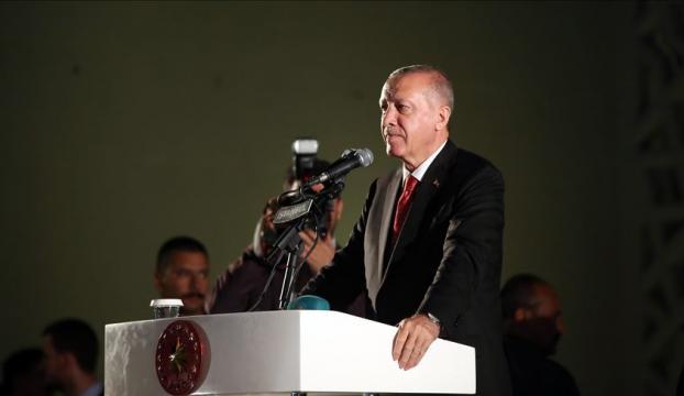 """""""Anadolu toprakları 15 Temmuzda bir kez daha bize vatan kılınmıştır"""""""