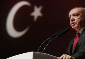 """Erdoğan'dan Trump'a Kurtlar Vadisi göndermesi : """"Azdan az gider, çoktan çok gider"""""""