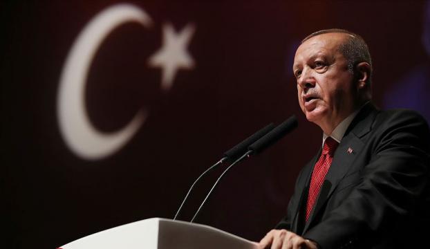 """Erdoğandan """"Türk Dil Bayramı"""" mesajı"""