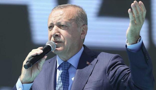 Cumhurbaşkanı Erdoğan: Bize kefen biçenlerin heveslerini kursaklarında bırakmayı sürdüreceğiz