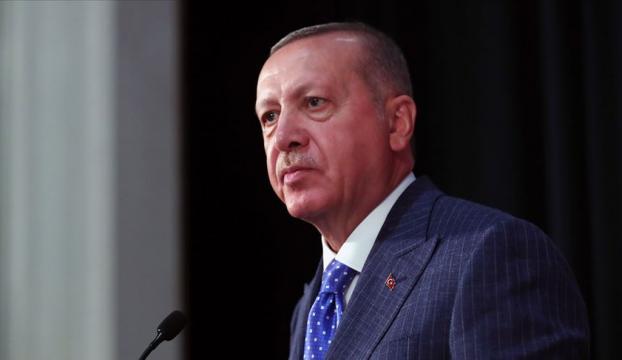 Cumhurbaşkanı Erdoğan, Tekirdağın kurtuluş yıl dönümünü kutladı