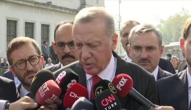 Erdoğan: Sözler yerine getirilmezse harekat çok daha kararlı devam edecek