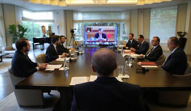 Cumhurbaşkanı Erdoğan, video konferansla G20 Liderler Olağanüstü Zirvesine katıldı