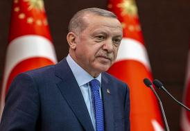 Cumhurbaşkanı Erdoğan'ndan şehit ailesine taziye mesajı