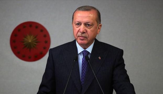 Cumhurbaşkanı Erdoğan, TBMM Başkanlığına yeniden seçilen Mustafa Şentopu kutladı