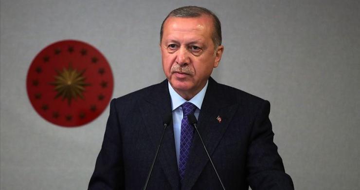 Cumhurbaşkanı Erdoğan, TBMM Başkanlığına yeniden seçilen Mustafa Şentop'u kutladı