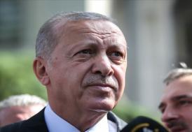Cumhurbaşkanı Erdoğan, cuma namazını Üsküdar'daki Hz. Ali Camisi'nde kıldı