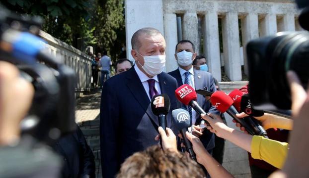 """Cumhurbaşkanı Erdoğan: """"Bu bayramda çok ama çok dikkat edilmesini milletimden özellikle rica ediyorum"""