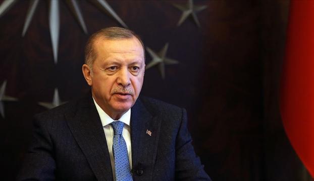 Cumhurbaşkanı Erdoğandan şehit Kızılay personelinin ailesine başsağlığı mesajı