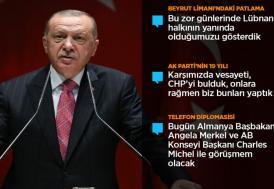 Cumhurbaşkanı Erdoğan, AK Parti Genişletilmiş İl Başkanları Toplantısı'nda konuştu