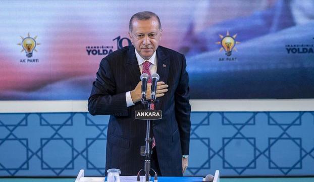 Cumhurbaşkanı Erdoğandan AK Partinin 19. yılı paylaşımı