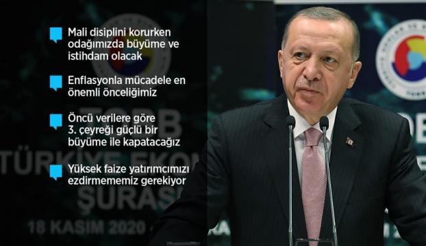 Cumhurbaşkanı Erdoğan: Ülkemiz hazırlık devrini geride bırakıp artık şahlanış dönemine giriyor