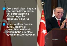 """""""Milletten demokrasinin kurallarıyla alamadıkları yetkinin gaspla takdimini bekleyenler çok bekler"""""""