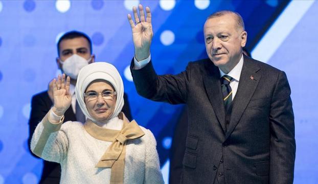 Erdoğan: Türkiyeyi önce 2023 hedeflerine, ardından da 2053 vizyonuna Cumhur İttifakıyla kavuşturacağız