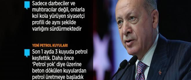 Cumhurbaşkanı Erdoğan: Yeni anayasada uzlaşma olmazsa milletimizin takdirine sunmakta kararlıyız