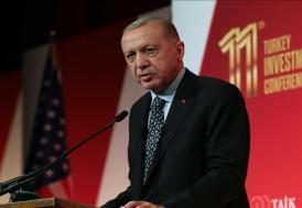 Cumhurbaşkanı Erdoğan: ABD'deki iş insanlarının art niyetli faaliyetlere karşı sağlam duruş sergileyeceğine inanıyorum