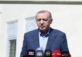 Cumhurbaşkanı Erdoğan: ABD ile iki NATO ülkesi olarak çok daha farklı konumda olmamız gerekir