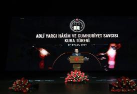Cumhurbaşkanı Erdoğan: Adalet sisteminin işleyişini güçlendirmek önümüzdeki dönemde de önceliğimiz olacak