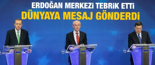 Erdoğan'dan dünyaya Suriye mesajı