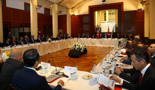 Cumhurbaşkanı Erdoğan Amerikalı yatırımcılarla bir araya geldi