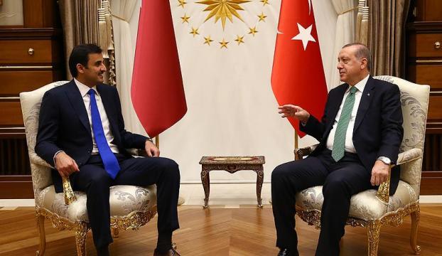 Erdoğan-Al Sani görüşmesi sona erdi