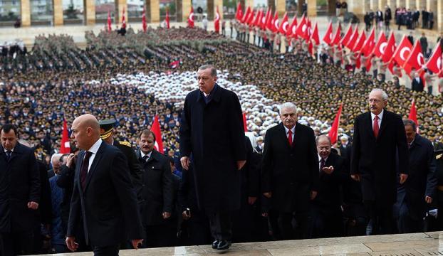 Cumhurbaşkanı Erdoğan: Cumhuriyetimize hayat veren ruh dimdik ayaktadır