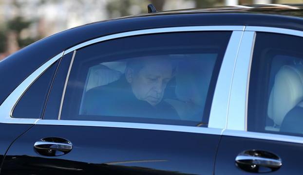 Cumhurbaşkanı Erdoğandan Kahramana ziyaret