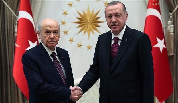 Cumhurbaşkanı Erdoğan Bahçeliyi kabul edecek