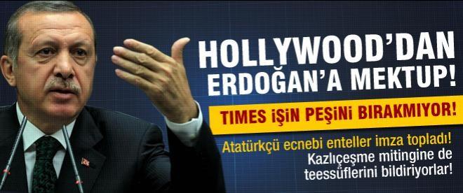 Hollywood'dan Erdoğan'a Gezi mektubu