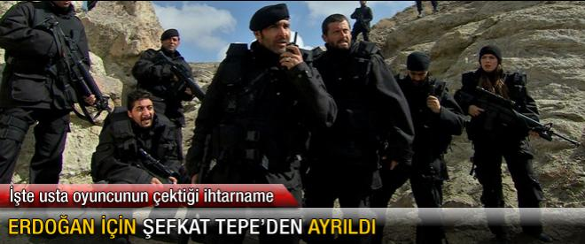 Erdoğan için Şefkat Tepe'den ayrıldı