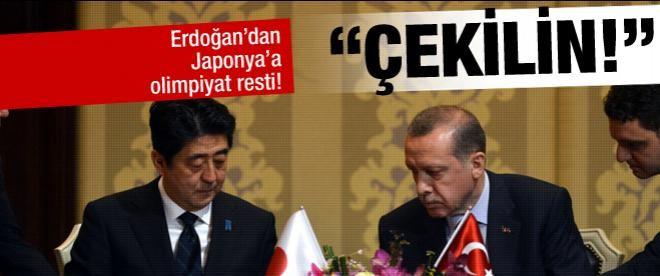 Başbakan'nın Japonya'dan olimpiyat isteği!