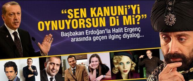 Erdoğan'dan Kanuni ve Bülent Ersoy çıkışı!