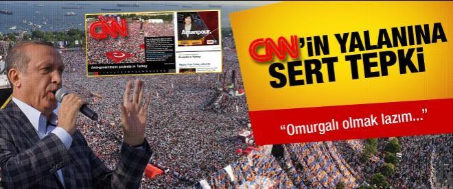 Erdoğan'dan CNN'nin haberine tepki