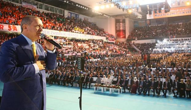 Erdoğan: 998 gün sonra nerede kalmıştık diyerek bir aradayız