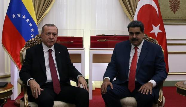 Cumhurbaşkanı Erdoğandan Maduroya destek