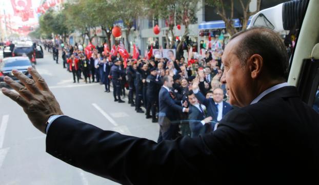 Cumhurbaşkanı Erdoğan, Manisada