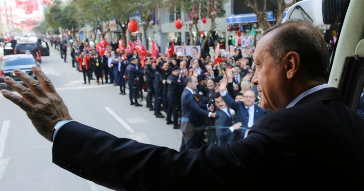 Cumhurbaşkanı Erdoğan, Manisa'da