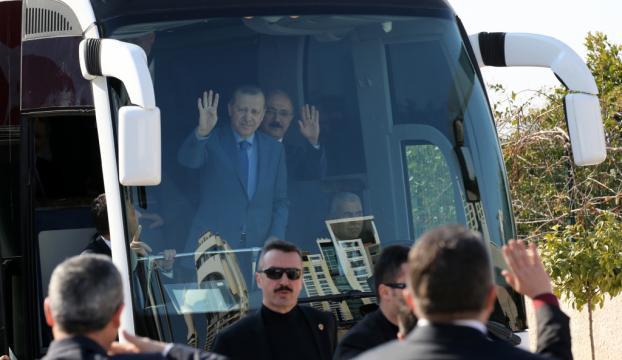 Cumhurbaşkanı Erdoğan Mersinde