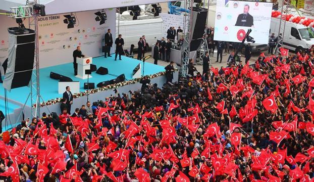 Cumhurbaşkanı Erdoğan: Bu sistem bileklerimizde prangaydı