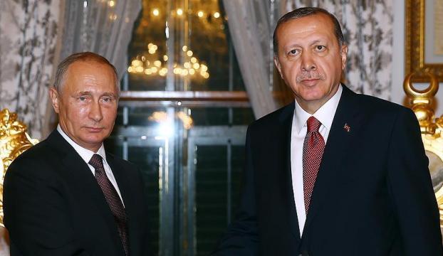 Erdoğan ve Putin Suriyeyi konuştular!