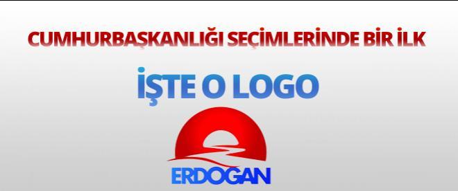 İşte Cumhurbaşkanı Adayı Başbakan Erdoğan'ın Seçim Logosu