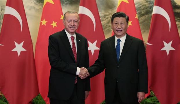 Cumhurbaşkanı Erdoğan, Çin Devlet Başkanı Şi ile telefonda görüştü