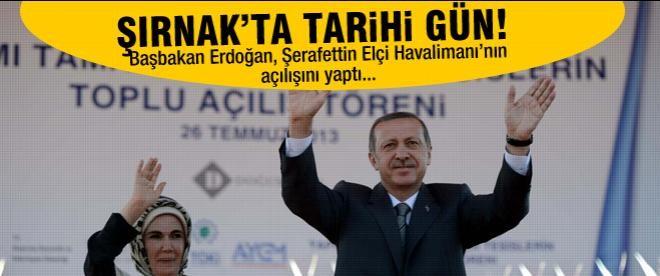 Erdoğan Şırnak'ta konuştu