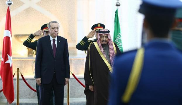 Erdoğan Suudi Arabistanda