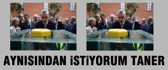 Erdoğan'dan Taner Yıldız'a talimat